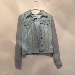 Jean Jacket/Sweat Shirt